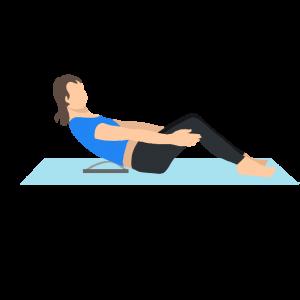 civière dorsale - position gainage
