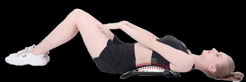 stretching-matinal-civière-dorsal-utilisations