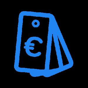 icone couteux dépense