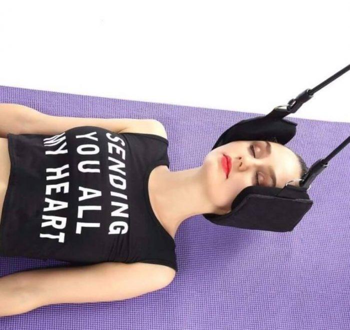 utilisation hamac cervical - stretchingdos