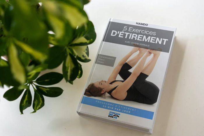 E book - 5 exercices d'étirement - civière dorsale