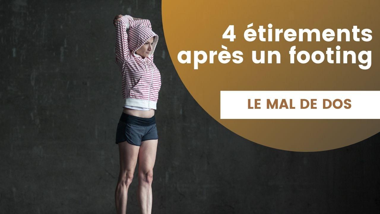 4 meilleurs étirements pour lutter contre le mal de dos après un jogging