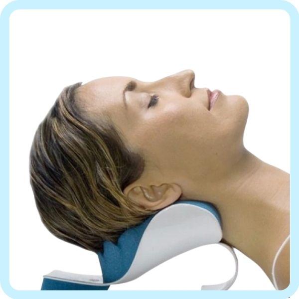 Utilisation coussin cervical ergonmique