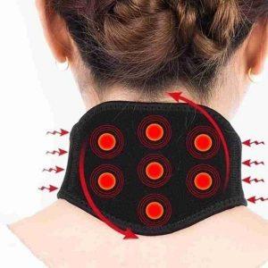 collier cervical chauffant magnetique