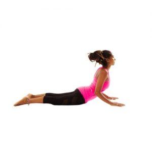 pose du cobra - yoga exercice contre hernie