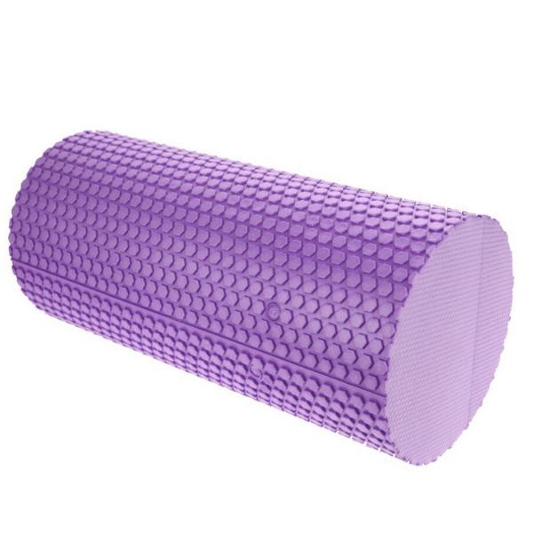 rouleau en mousse - massage - violet