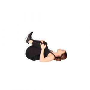 6. Flexion de la colonne vertébrale en position allongée