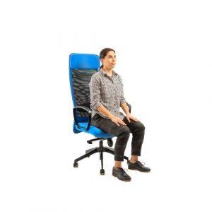 7. Flexion en position assise