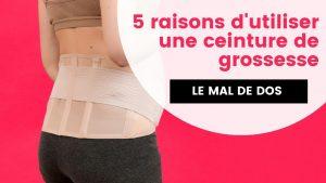 5 raisons d'utiliser une ceinture de grossesse extensible